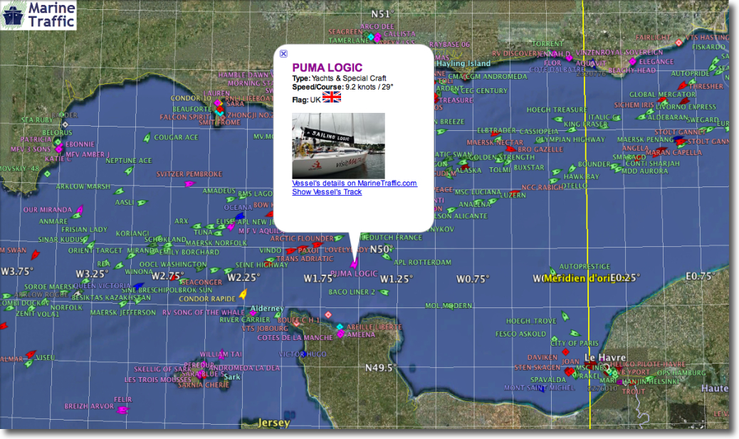 google marinetraffic
