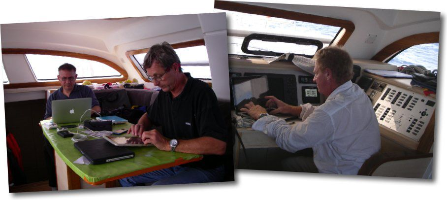 "Travail intense à bord de ""Rafale"""