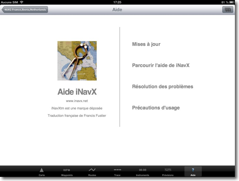 aide inavx