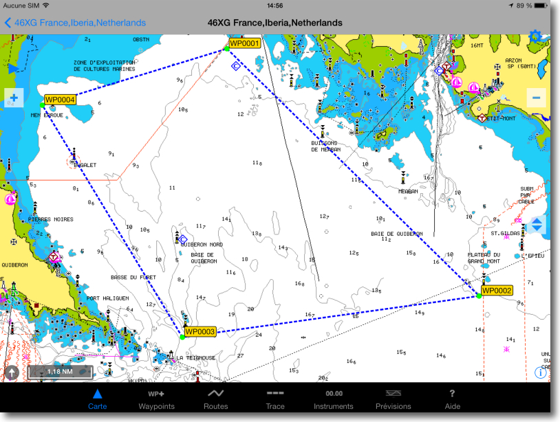 Routage WRF France