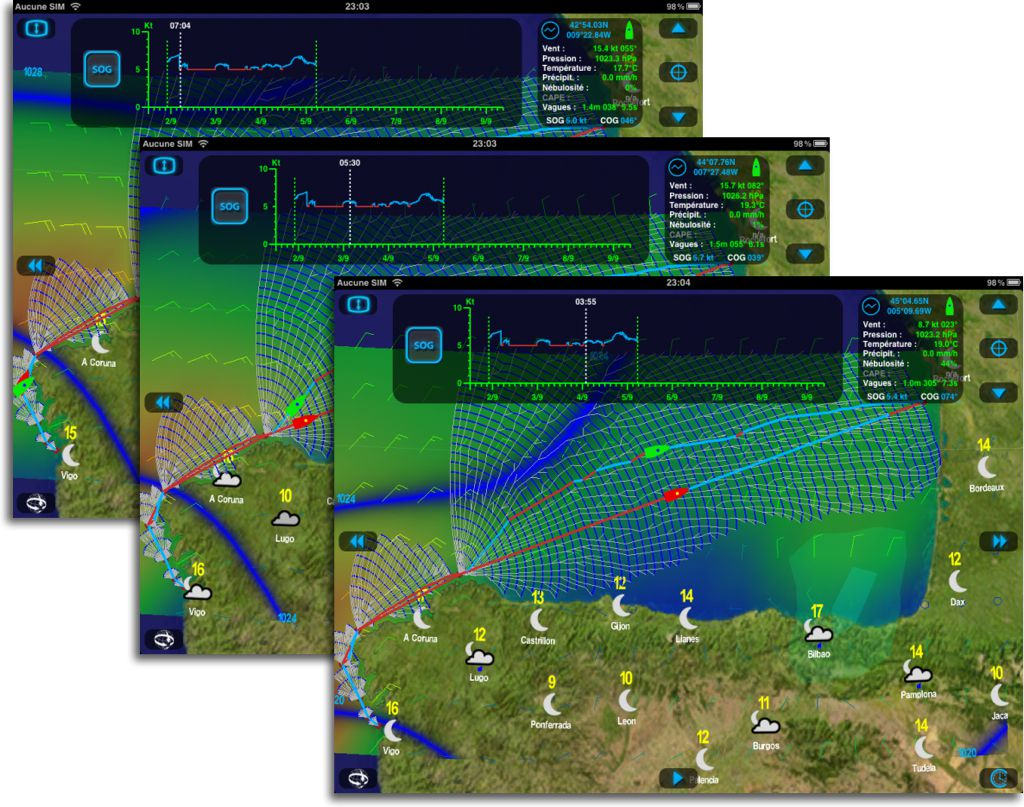 weather4d pro routage